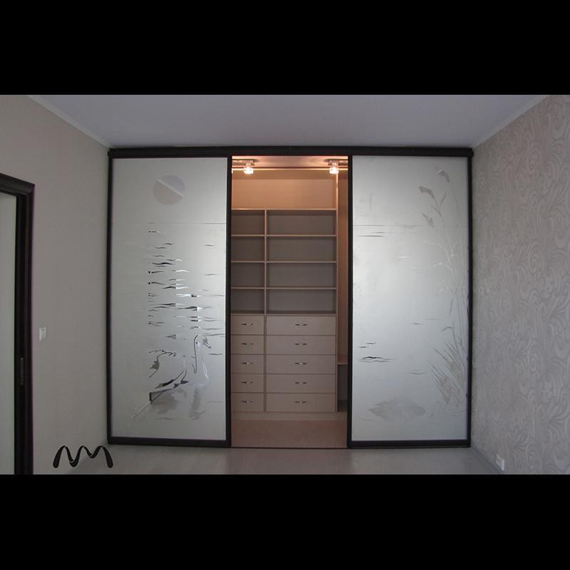 Дверь купе для гардеробной своими руками