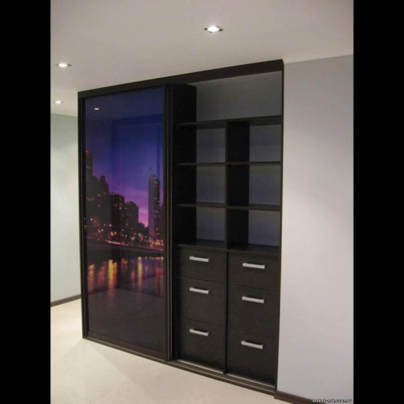 Шкафы купе а также любая корпусная мебель на заказ наша фирм.
